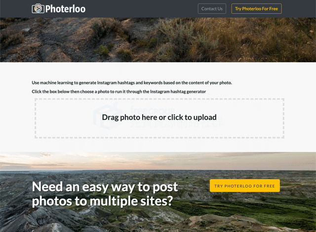 Photerloo Instagram Hashtag and Keyword Generator