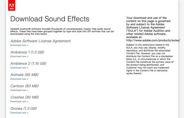 Adobe Audition Downloads