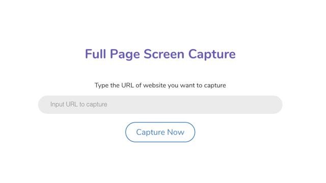 Full Page Screen Capture 線上產生網頁長擷圖,正常顯示中文內容無廣告