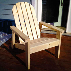 Adirondack Chair Plans With Over 30 Designs