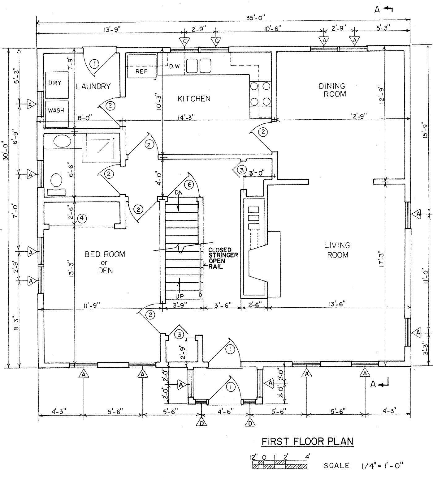 Saltbox Floor Plans Find House Plans