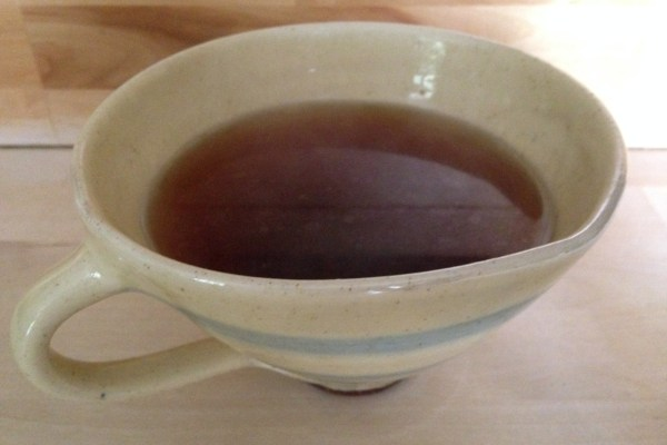 cinnamon tea : soothes sore throats