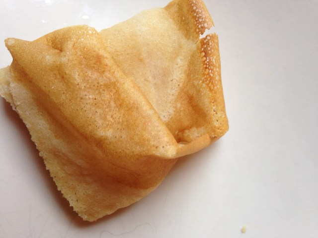 paper-thin crepes