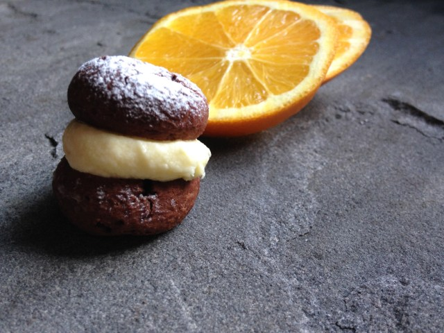 vegan & gluten-free chocolate orange kisses
