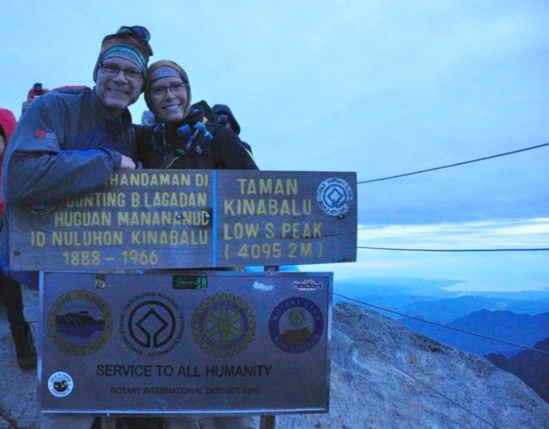 Mt. Kinabalu Summit