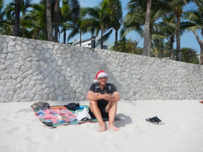 Christmas Hua Hin Beach unedited