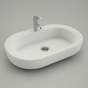 sink vanity oval cocktail 65cm kolo