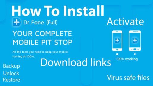 Dr. Fone Crack 11.0.8 & Lifetime Activation Code Free Download