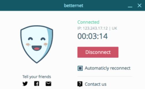 Betternet VPN Premium Crack