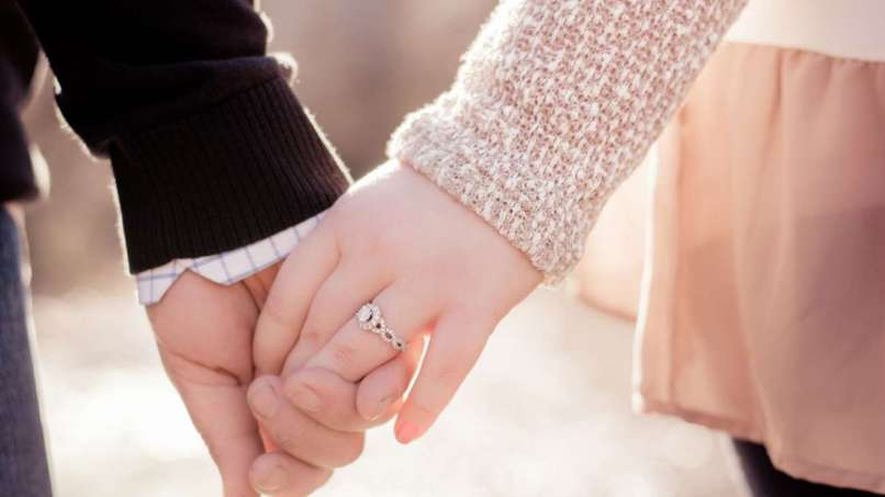 Couple Love Hands Hd Facebook Cover