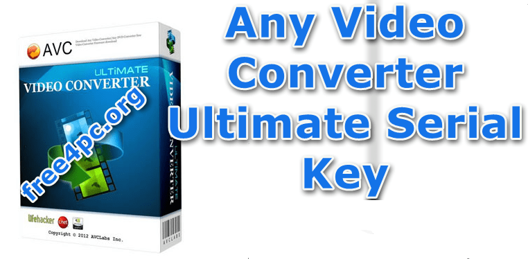 Any Video Converter Ultimate full version