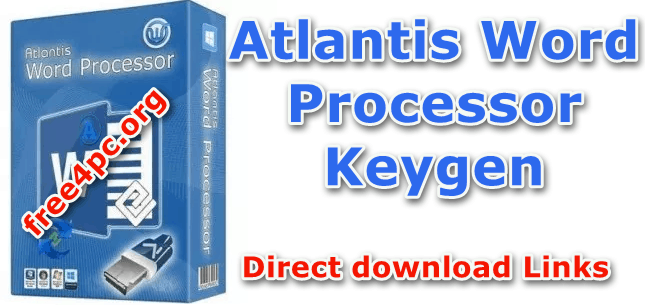 Atlantis Word Processor Keygen