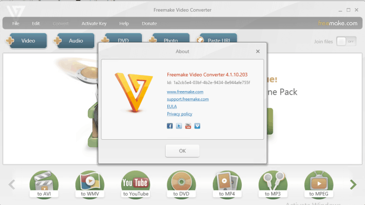 Freemake Video Converter Serial Key full versionFreemake Video Converter Serial Key full version