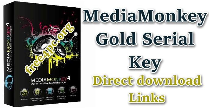 MediaMonkey Gold Serial Key