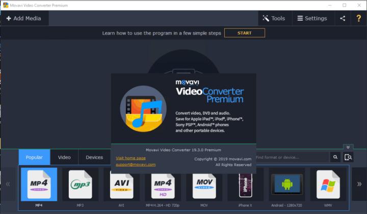 Movavi Video Converter 19.3.0 Premium Crack