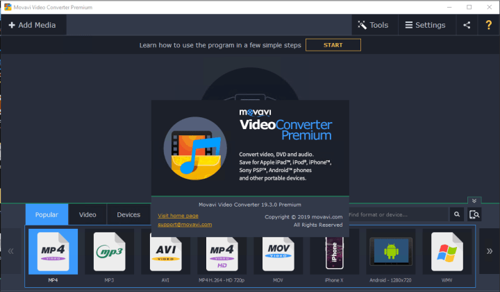 Movavi Video Converter 19.3.0 Premium Crack