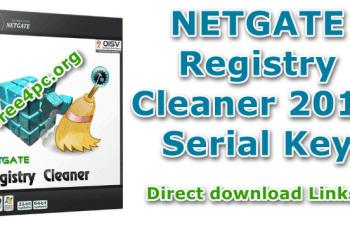 NETGATE Registry Cleaner 2019 Serial Key
