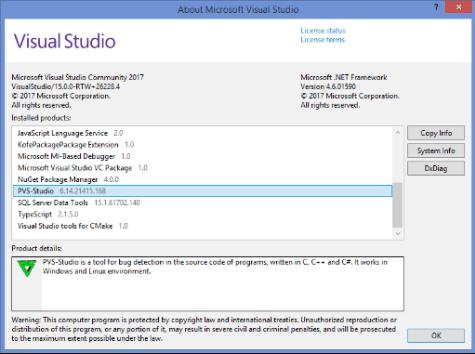 PVS-Studio Serial Key Screenshot