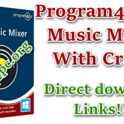 Program4Pc DJ Music Mixer 8.1 With Crack [Multilingual]