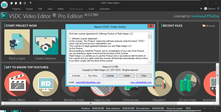 VSDC Video Editor Pro Serial Key
