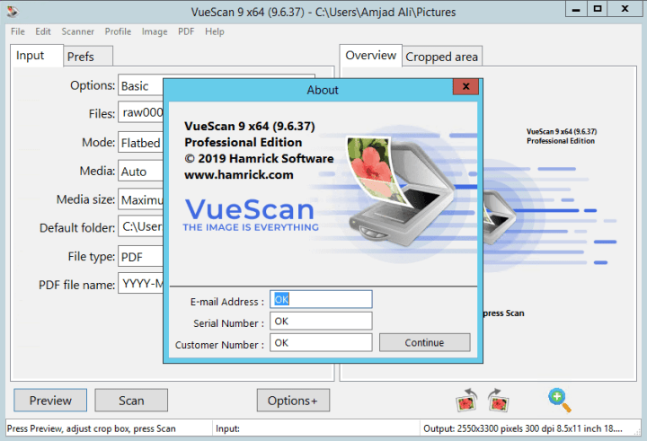 vuescan serial number free download