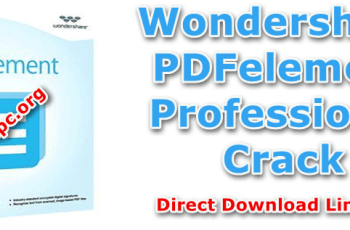 Wondershare PDFelement Professional Crack