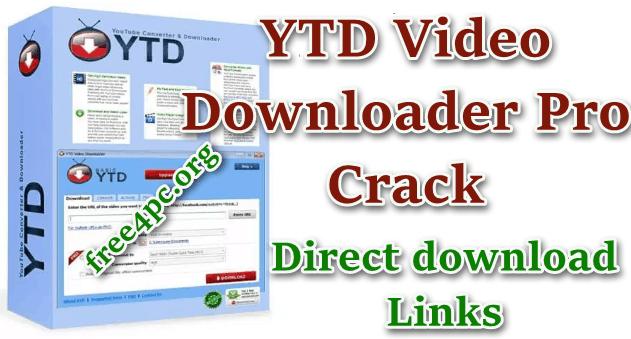 YTD Downloader Crack