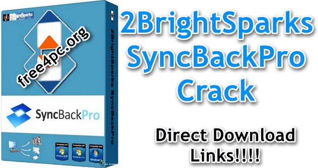 2BrightSparks SyncBackPro Crack