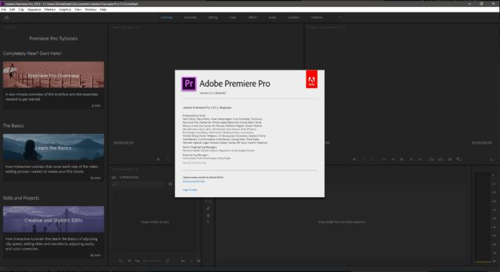 Adobe Premiere Pro CC 2019 v13.1.3.42 Keygen