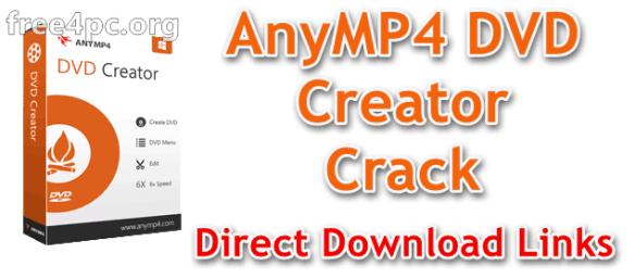 AnyMP4 DVD Creator Crack
