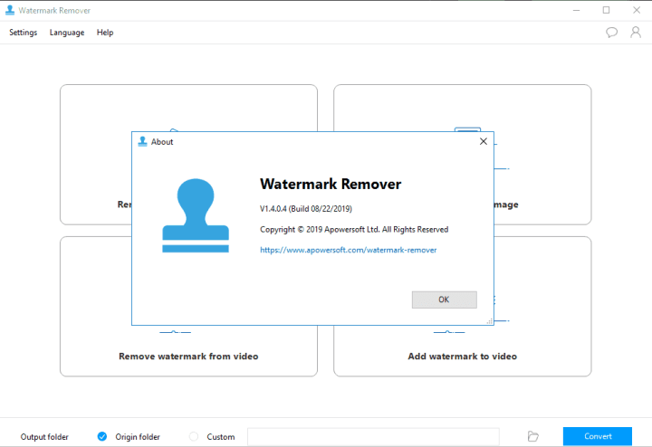 Apowersoft Watermark Remover 1.4.0.4 Crack
