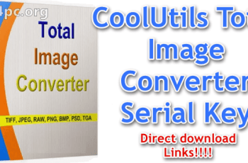 CoolUtils Total Image Converter Serial Key