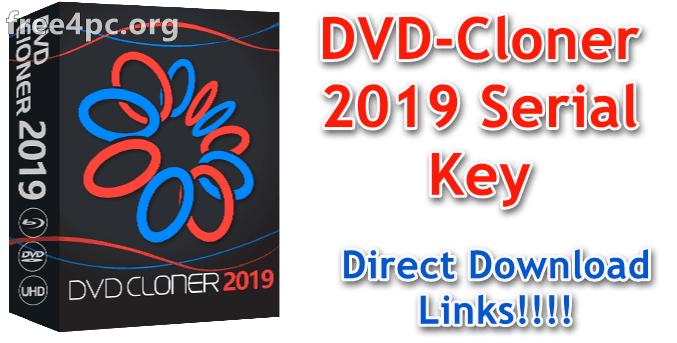 DVD-Cloner 2019 Serial Key