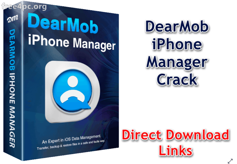 DearMob iPhone Manager Crack