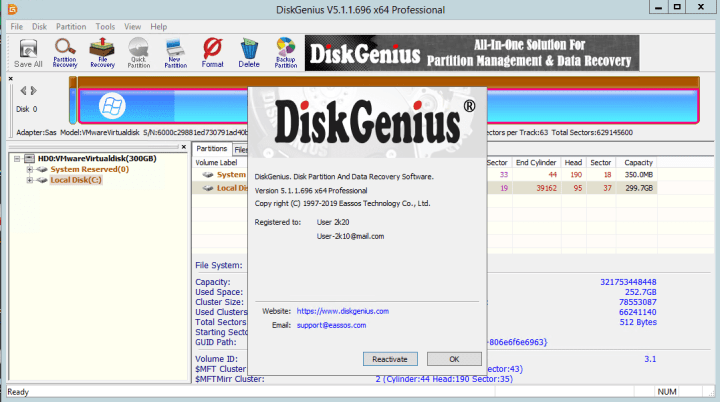 DiskGenius Professional Crack