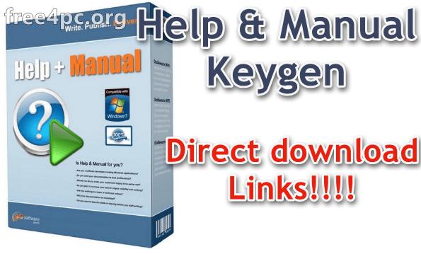 Help & Manual Keygen