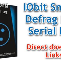 IObit Smart Defrag Pro Serial Key