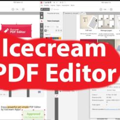 Icecream PDF Editor Full Version