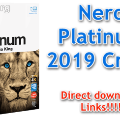 Nero Platinum 2019 Crack