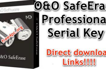 O&O SafeErase Professional Serial Key