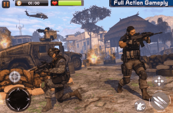 Real Commando Secret Mission v3.0.07 MOD APK