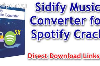 Sidify Music Converter for Spotify Crack