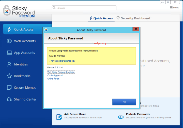 Sticky Password Premium License Key