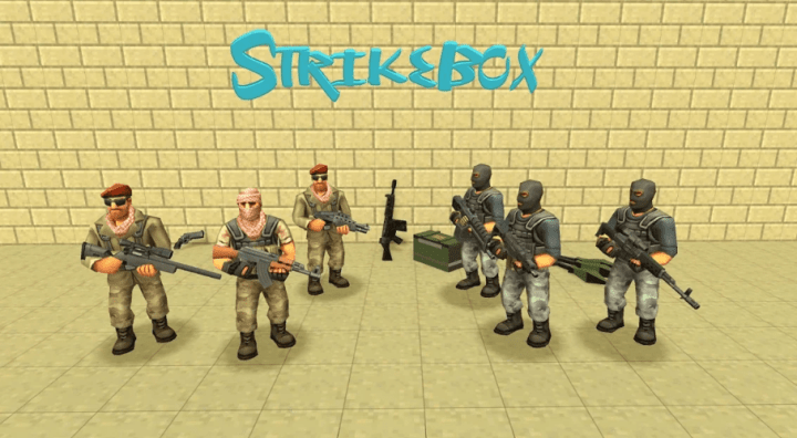 StrikeBox Sandbox&Shooter v1.1.1 MOD APK