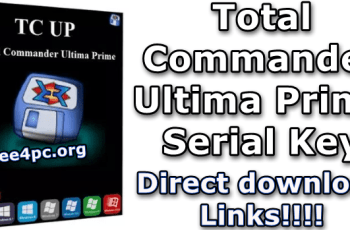 Total Commander Ultima Prime Serial Key