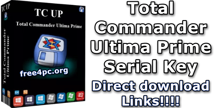 Total Commander Ultima Prime Serial Key