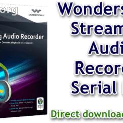 Wondershare Streaming Audio Recorder Serial Key
