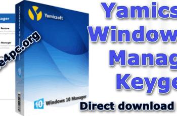 Yamicsoft Windows 10 Manager Keygen