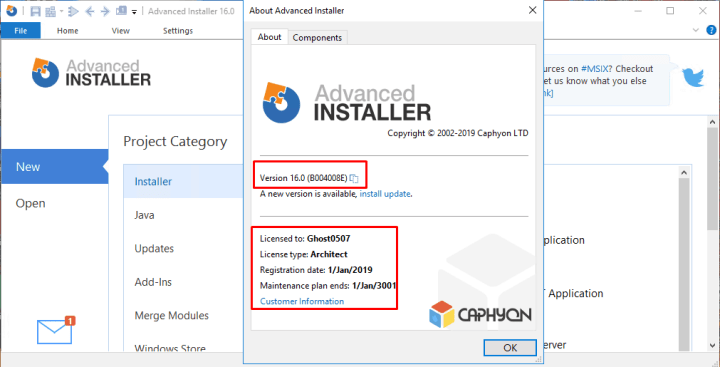 Advanced Installer Architect 16.0 Crack