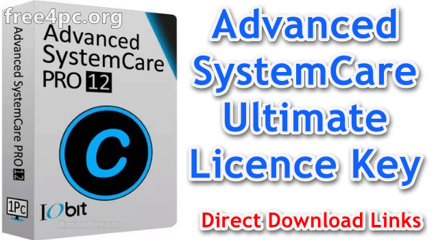 iobit advanced systemcare ultimate free download